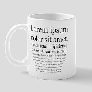Lorem Ipsum Mug