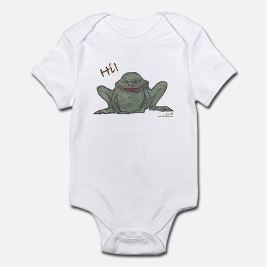 """Friendly Forg"" Infant Bodysuit"