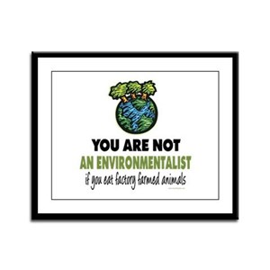 Animals Rights Framed Panel Print