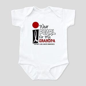 I Wear Pearl For My Grandpa 9 Infant Bodysuit