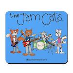 The Jam Cats band photo mousepad