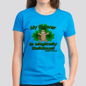 Beaver Is Magically Delicious Women's Dark T-Shirt