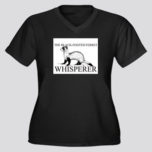 The Black-Footed Ferret Whisperer Women's Plus Siz