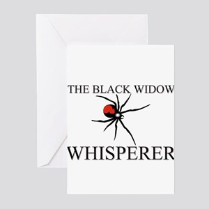 The Black Widow Whisperer Greeting Cards (Pk of 10