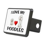POODLES Hitch Cover