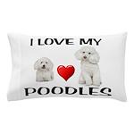 POODLES Pillow Case