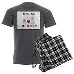 POODLES Men's Charcoal Pajamas