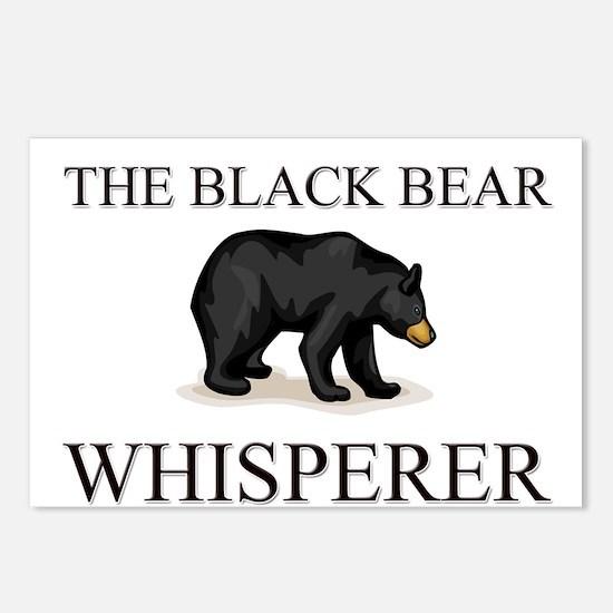 The Black Bear Whisperer Postcards (Package of 8)