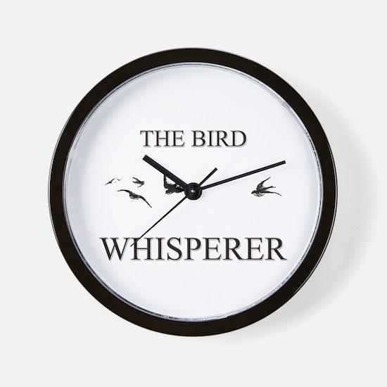 The Bird Whisperer Wall Clock
