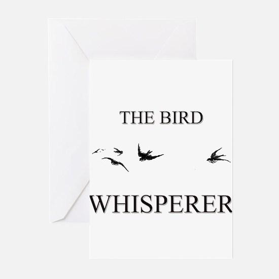 The Bird Whisperer Greeting Cards (Pk of 10)