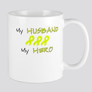 Hero Husband Yellow Mug