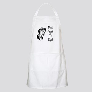 Don't Forget To Wipe BBQ Apron