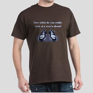 A Man's Shoes Dark T-Shirt