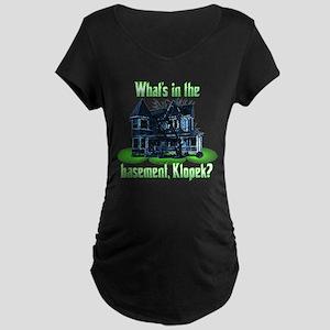 The Burbs - Basement Maternity Dark T-Shirt