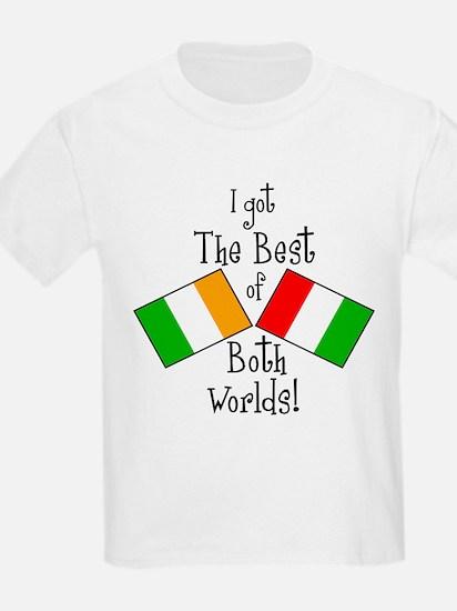"""""""Irish-Italian Kid"""" T-Shirt"""