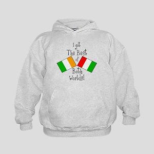"""""""Irish-Italian Kid"""" Kids Hoodie"""