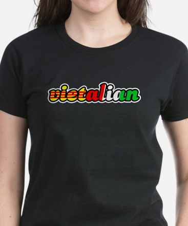 """Vietalian"" Women's Dark T-Shirt"