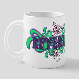 Beverley's Butterfly Name Mug