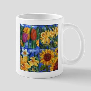 FOUR FLOWERS Mug