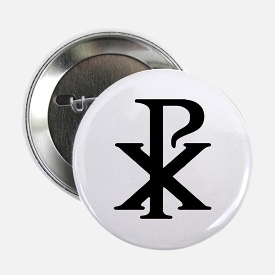 """""""Chi Rho"""" 2.25"""" Button (10 pack)"""
