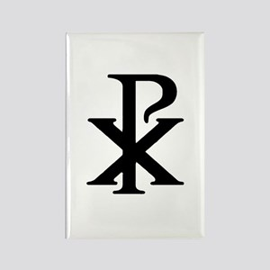 """Chi Rho"" Rectangle Magnet (10 pack)"