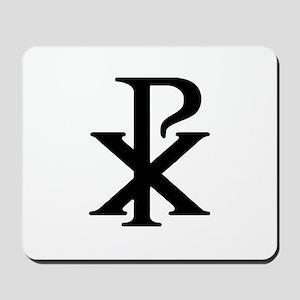 """""""Chi Rho"""" Mousepad"""