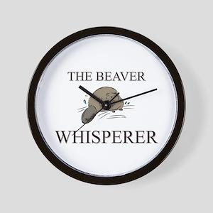 The Beaver Whisperer Wall Clock