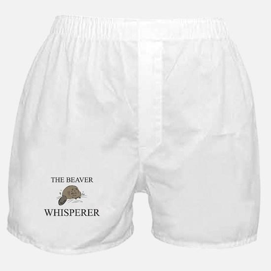 The Beaver Whisperer Boxer Shorts
