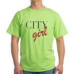 City Girl Green T-Shirt