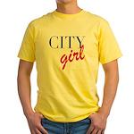 City Girl Yellow T-Shirt