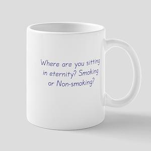 Smoking or Nonsmoking Mug