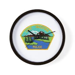 Lake Shastina Police Wall Clock