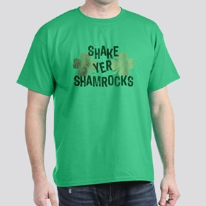 Shake Yer Shamrocks Dark T-Shirt