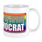 Gay Marriage Flag Burning Mug