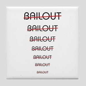 No BAILOUT -- Tile Coaster