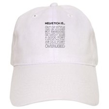 Helvetica Is... (Black) Cap