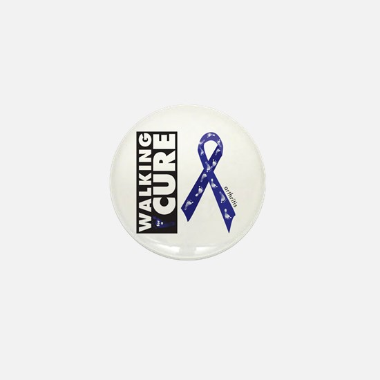 Blue Ribbon for Arthritis Mini Button