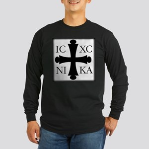 ICXC NIKA Long Sleeve Dark T-Shirt