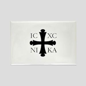 ICXC NIKA Rectangle Magnet