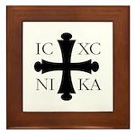 ICXC NIKA Framed Tile