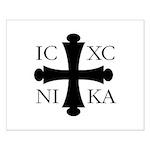 ICXC NIKA Small Poster