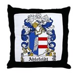 Ahlefeldt Coat of Arms Throw Pillow