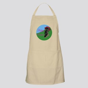 Happy Easter Island BBQ Apron