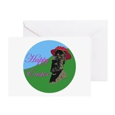 Happy Easter Island Greeting Card