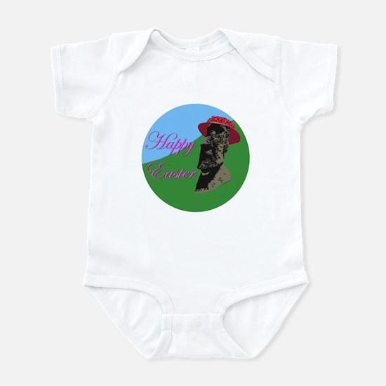 Happy Easter Island Infant Bodysuit