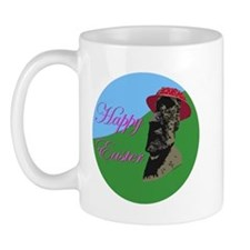 Happy Easter Island Mug