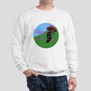 Happy Easter Island Sweatshirt