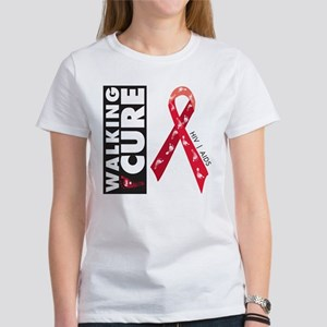 Red Ribbon for AIDS HIV Women's T-Shirt
