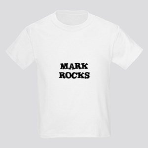 MARK ROCKS Kids T-Shirt