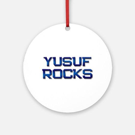 yusuf rocks Ornament (Round)